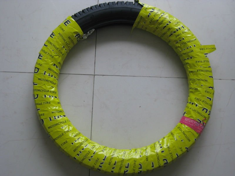 motorcycle wrapping paper for tyre and tube