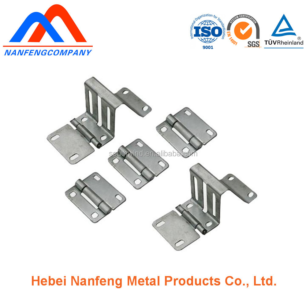 Furniture Sheetmetal Stamping Fittings Precision Zinc Coated Metal