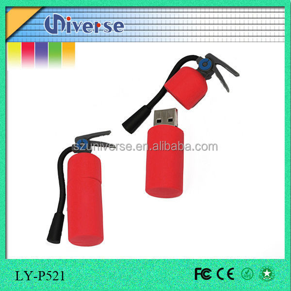 new fresh style PVC fire extinguisher usb 3.0 flash drive