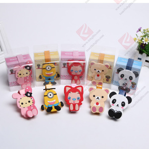 Funny eco-friendly rubber holder/soft PVC rubber mobile phone holder/soft pvc rubber silicone towel holder