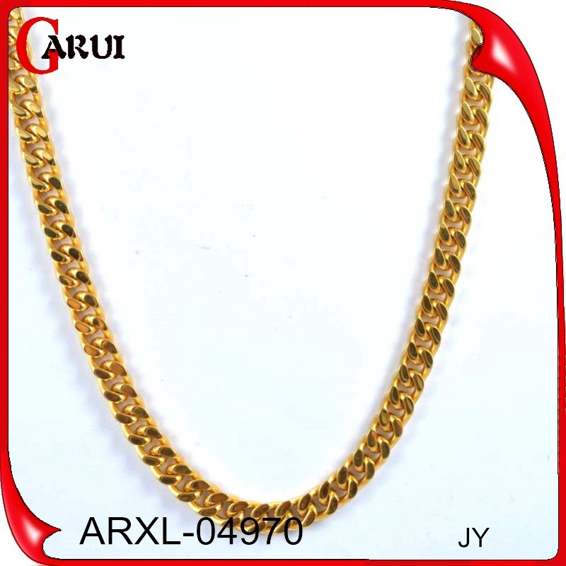 Factory Price Thick Long Chain Necklace Gold Chain Design For Men ...