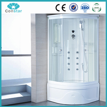 2017 Complete prefab Newly design steam shower room,prefab toilet bathroom steam shower cabin