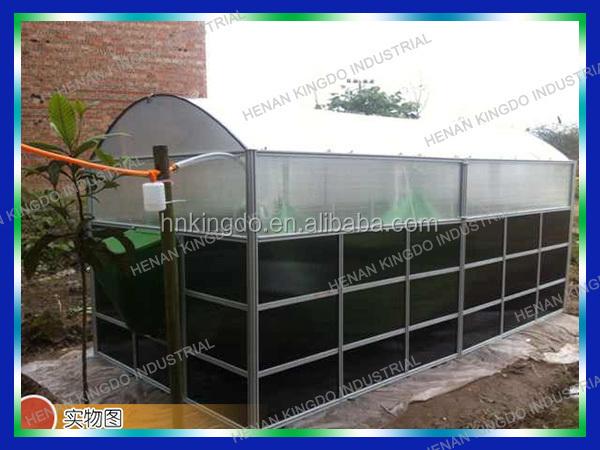 Small Biogas Plant Portable Biogas Plant Methane Gas Making - Buy ...