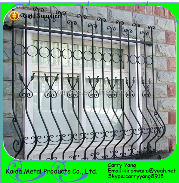 Home Wrought Iron Window Grill Designs Color Buy Window Grilliron