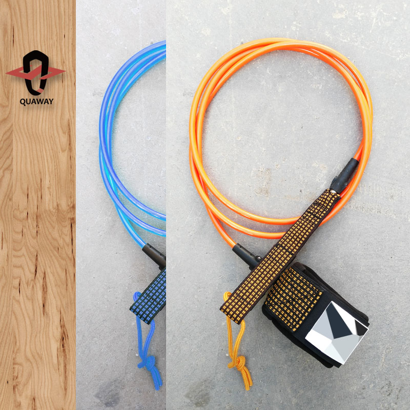 Surfboard Leash Plug 5.5mm/7mm/8mm/9mm Cord Leashes For Surfboard