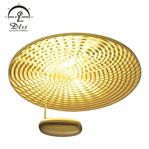 High quality modern gold color hotel room 30w led metal ceiling lighting