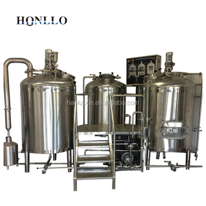 200L turnkey commercial complete brewery equipment / hotel beer brewing for sale