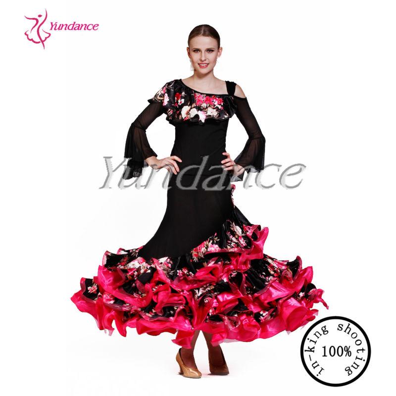 f6c1a24ff Fashion Ruffled Flamenco Dance Costumes Women Ab035 - Buy Flamenco ...