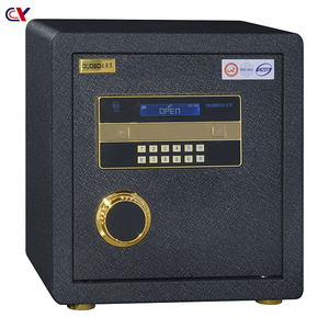 Luxury home or office use electronic deposit safe box money safe vault with master key and outdoor personal safe