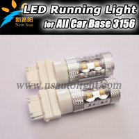 Canbus C REE 10pcs led chip auto led car back up light bulb 3156 socket 12-28V DC led bulbs 800lumen