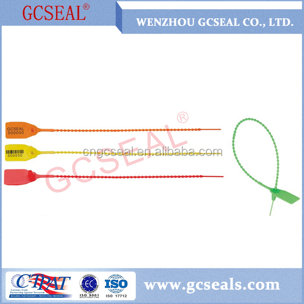Disposable plastic container security seals safety seal for travel