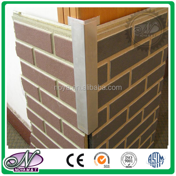 Brick Cement Board : Artificial faux brick fiber cement board for wall cladding