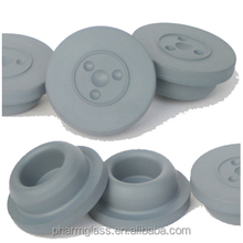 Butyl rubber stoppers 32mm for injection vials