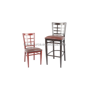 cheap stackable wood grain color restaurant chairs