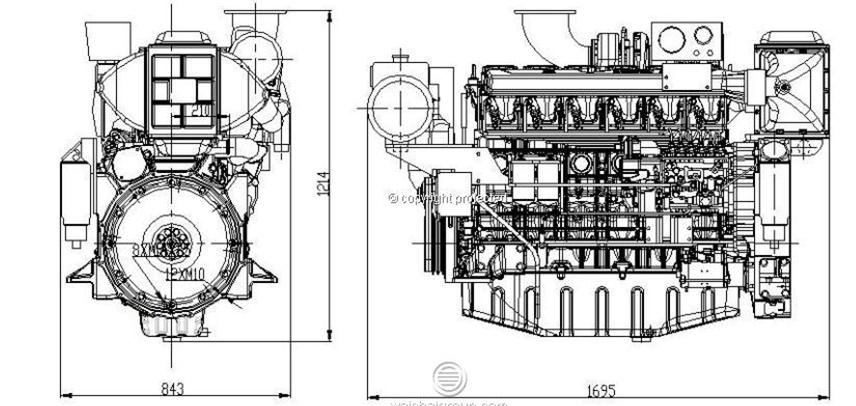 Marine Engine For Fishing BoatInboard Engine For Official Boats – Diagram Of Inboard Boat Engine
