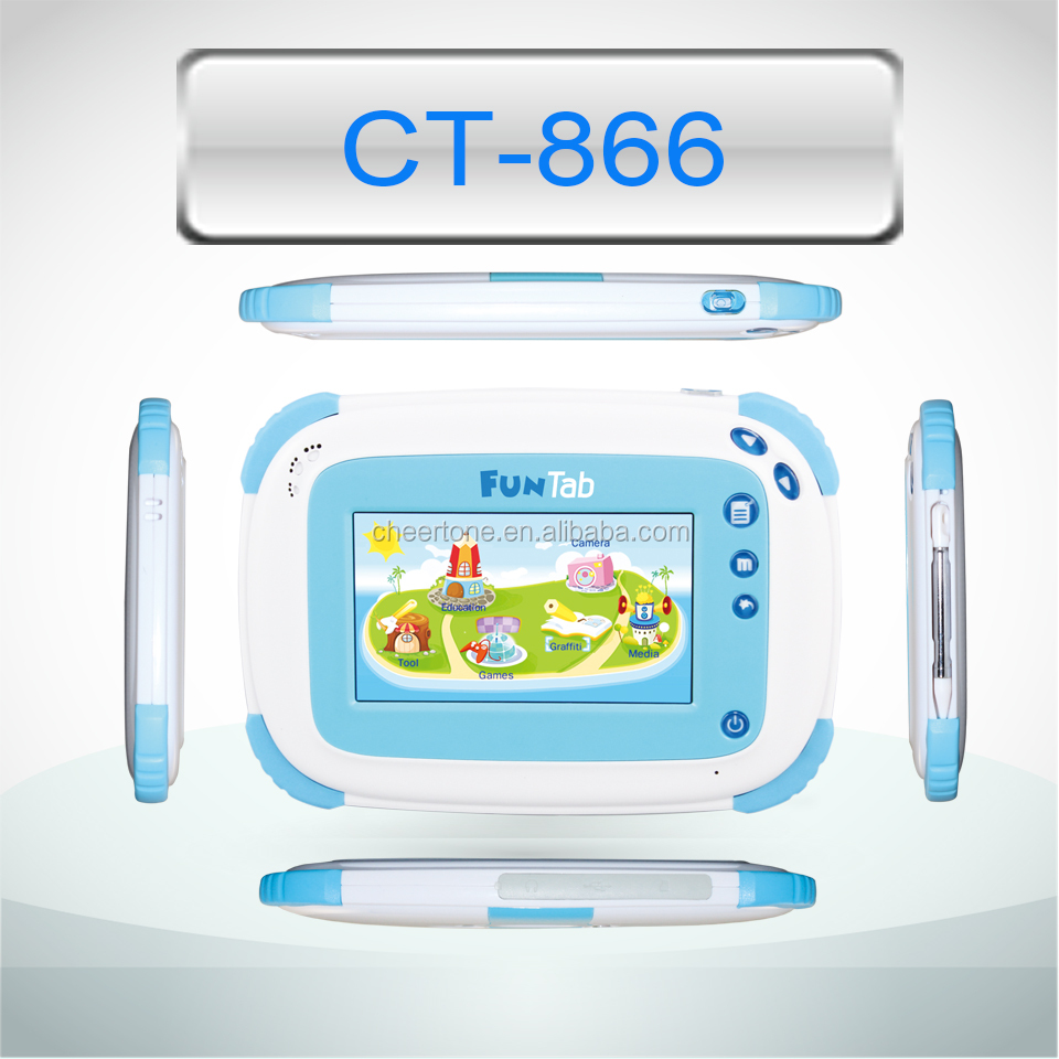 4.3 inch touch screen android tablet pc for kids learning pad