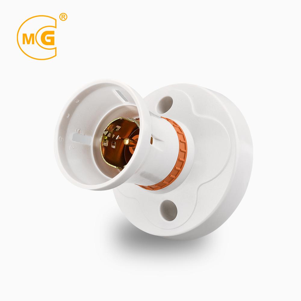 Bakelite B22 pin type wall lampholder bulb base lamp holder