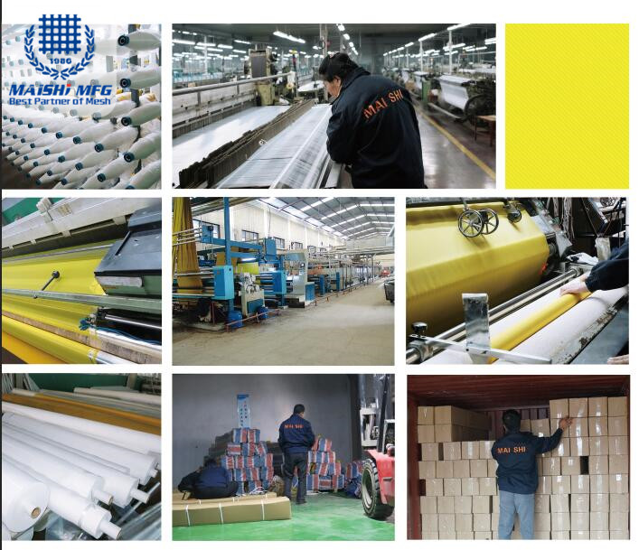 Factory supply Polyester screen printing cloth
