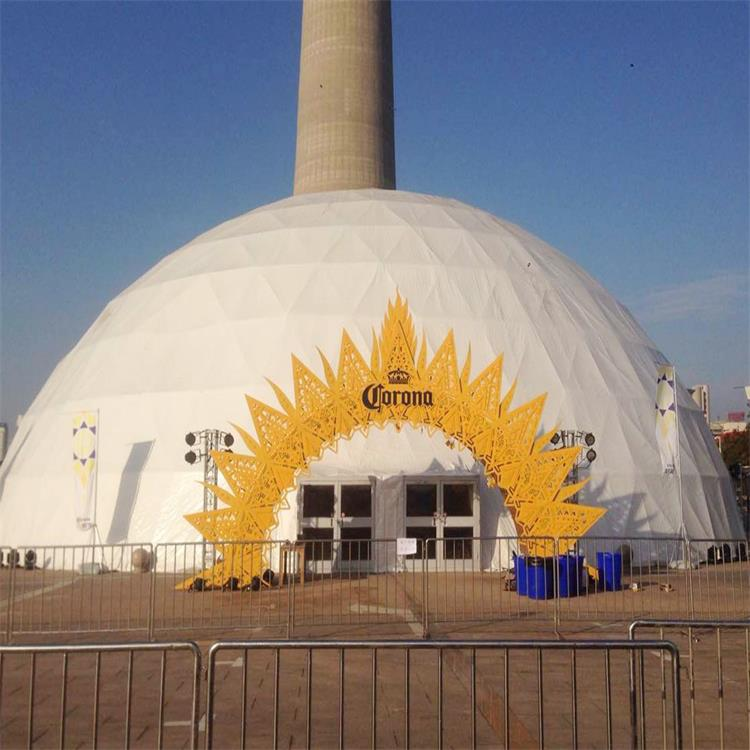 82 Feet Geodesic Soundproof Dome Projection Tent For Outdoor Event