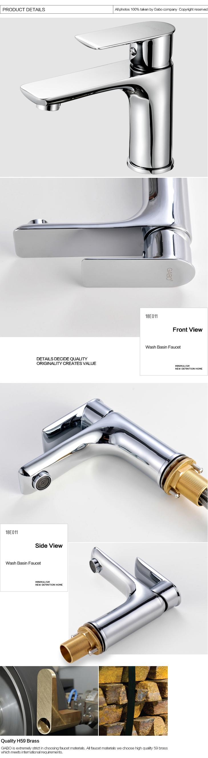 Low Lever Brass Faucets For Bathroom Plumbing Fixtures Buy