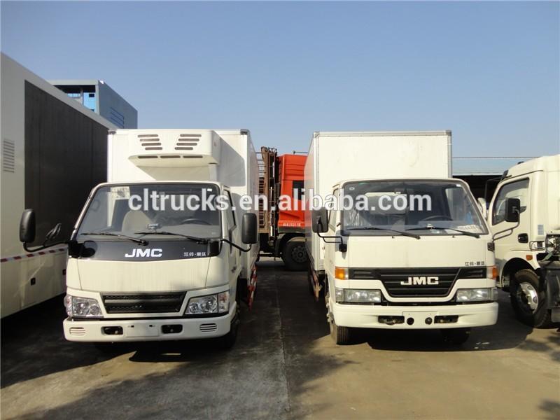 Jmc 4 2 New Insulated Box Body Trucks Prices 7 Ton