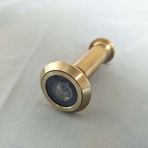 High quality anti-theft Brass detachable door viewer camera peephole