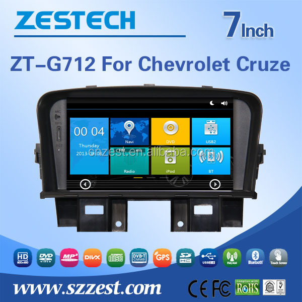 7 inch car dvd gps for Chevrolet cruze accessories touch screen dvd player car gps navigation system parts with GPS DVD USB/SD