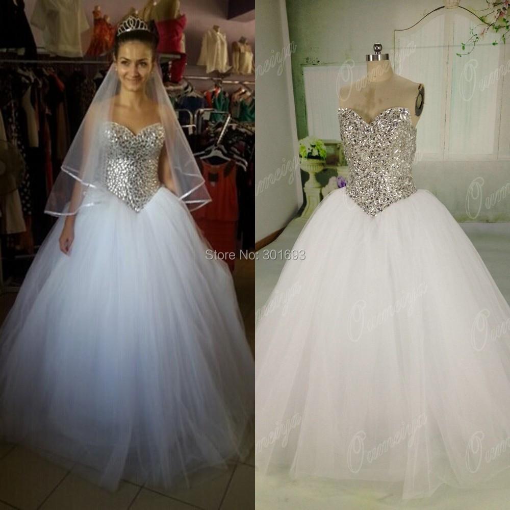 diamond top wedding dress - photo #21