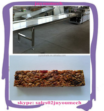 hot selling china nutritional healthy puffed roasted nuts cereal snack food granola bar making machine