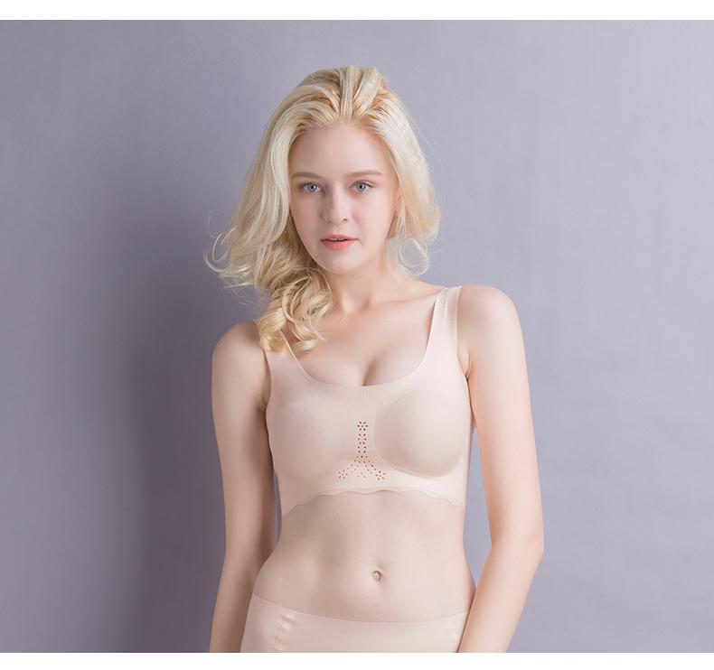 Freedom Seamless Spandex Yoga Bra Custom Blank Sports Bra Padded Sports Bras For Women 4