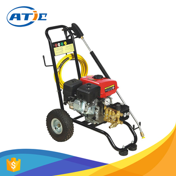 Multi Pressure Washer Cold Water Cleaning 10inch Wheels Mobile Car Wash Cart