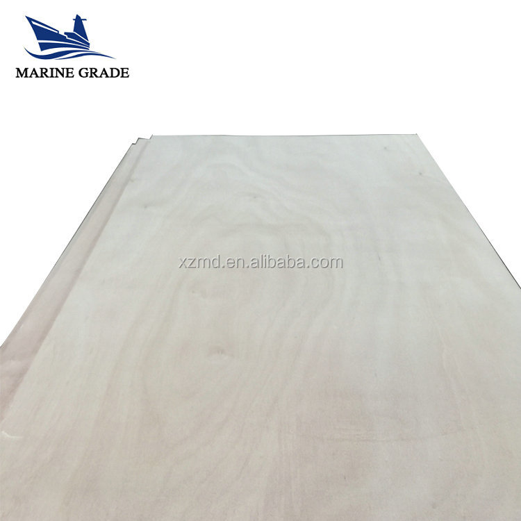 Marine Grade Brand 18mm commercial plywood by maidao industry