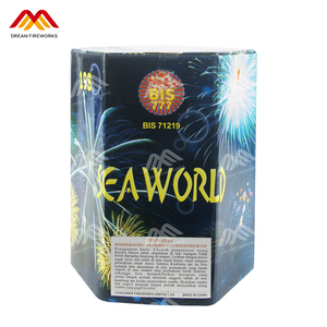 132 shots Factory direct sales CE cake fireworks pyrotechnics square consumer cake fireworks