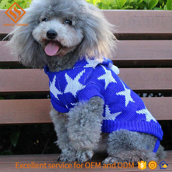 2017 Heated Christmas Dog Sweater7gg Knitting Pattern For Dog
