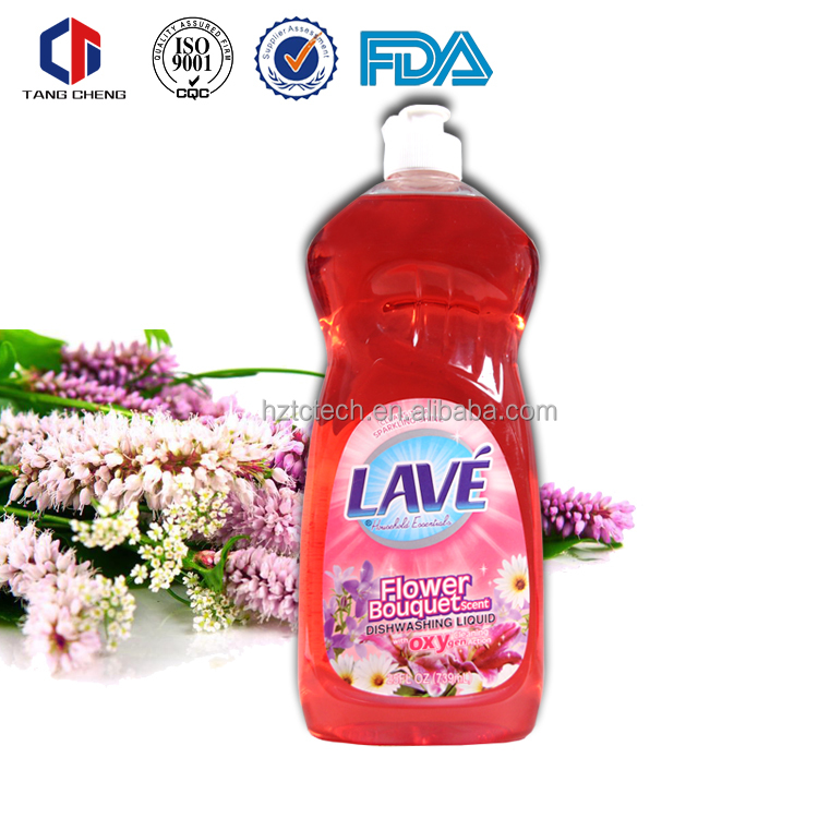 Different fragrance available dish washing 750ml liquid dish soap
