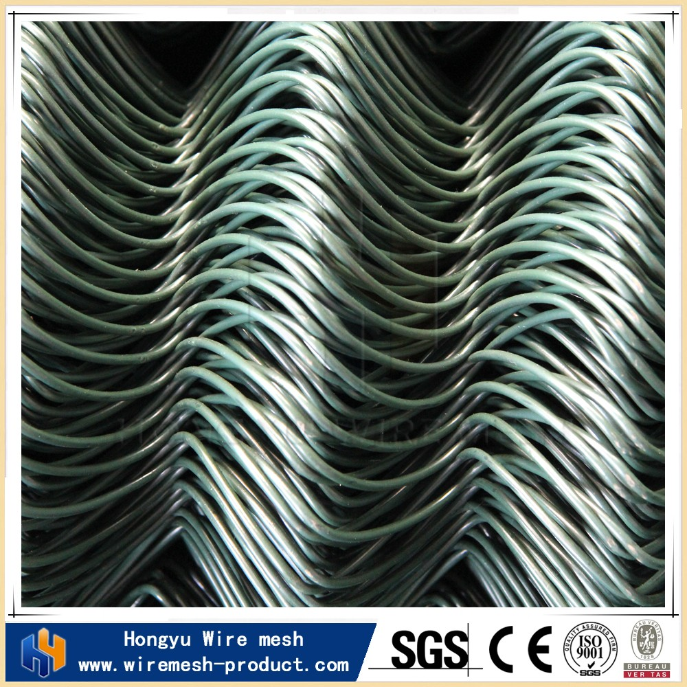 diamond wire netting chain link fence extensions pvc fence panels