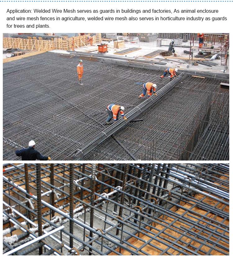 Heavy Duty Gauge 4x4 Welded Wire Mesh Rebar Reinforcement Panel ...