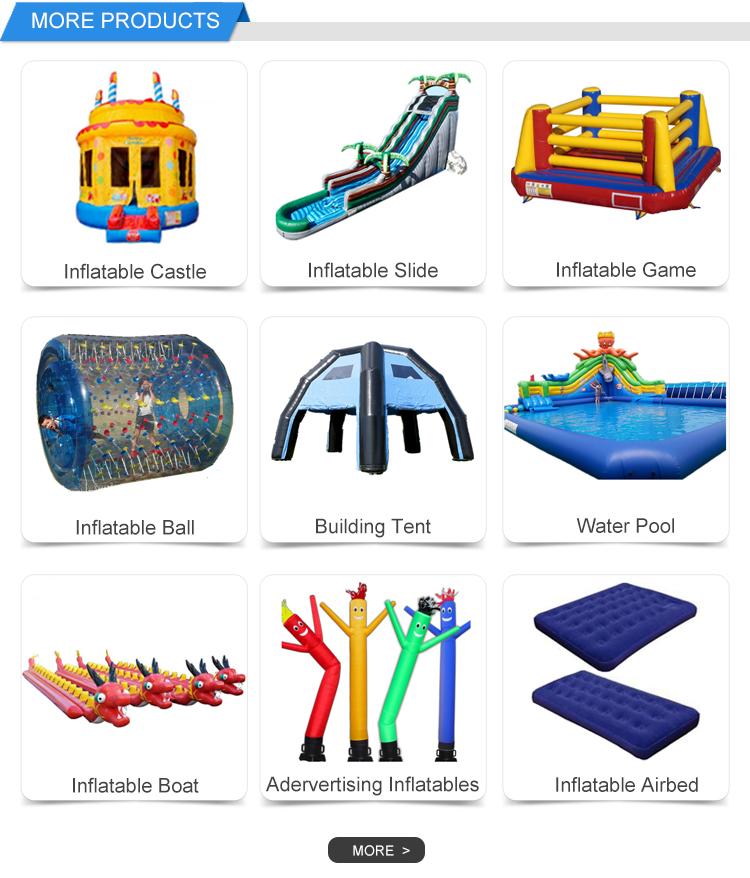 Projeto parque aquático inflável slide piscina para crianças