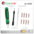 ba-3039 multi-function precision triangle optical kit hand tool screwdriver set for phones & camera.