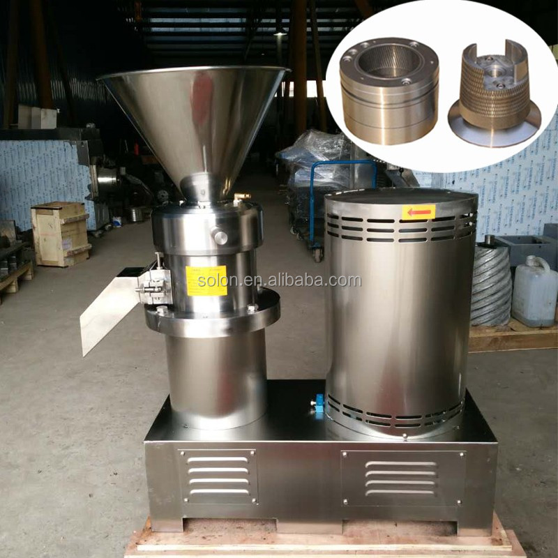 Professional Multifunction colloid mill for sunflower seed butter fruit processing equipment