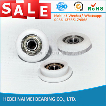 Nylon Small Deep Groove Ball Bearings Roller Plastic Pulley Wheels With  Bearings For Door Windows - Buy Nylon Small Bearings Roller,All Bearings