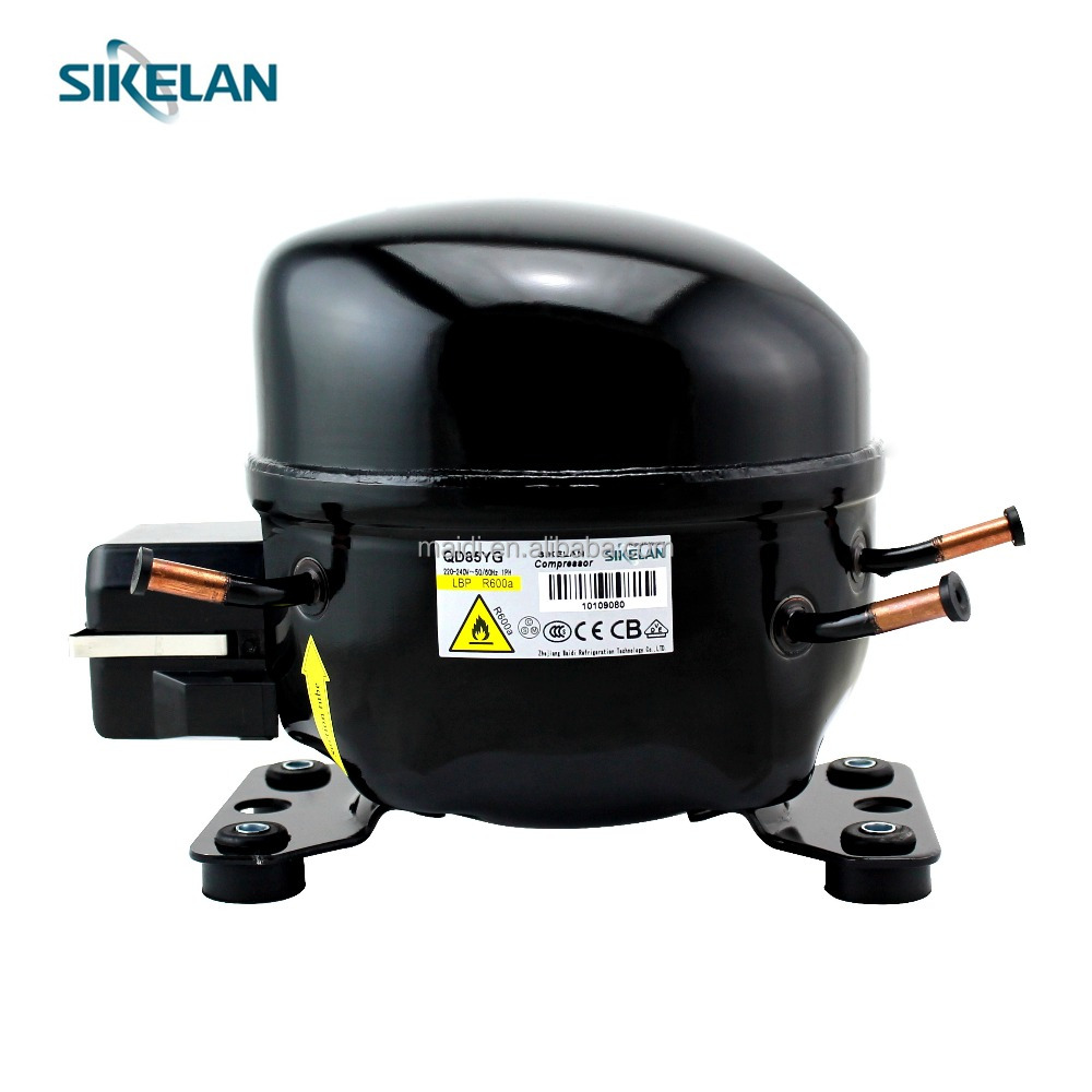 Home AC Compressor 220V fridge freezer refrigerator R600a compressor for sales QD85YG 145W