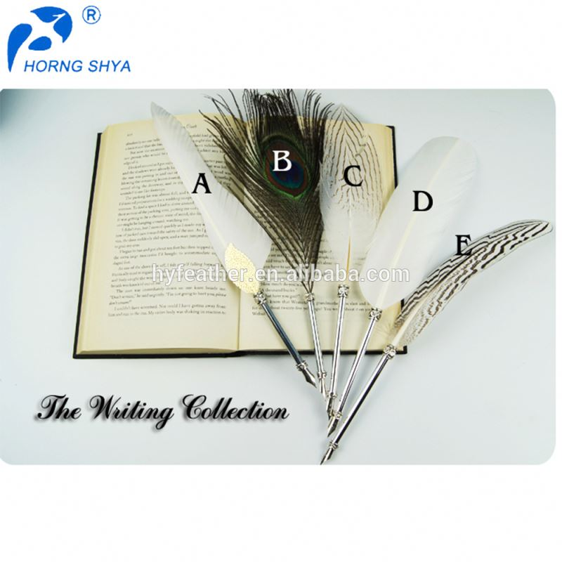 China Trading Promotional Fashionable High Prime Quality Free Sample Feather Pen