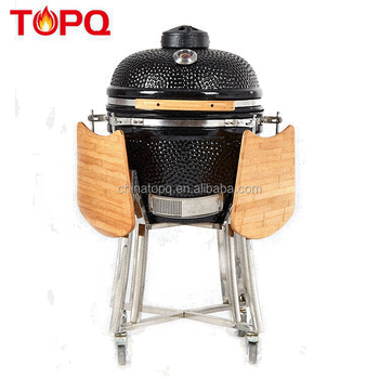 TOPQ 20 inch Japanse Clay Kamado BBQ Oven Grill