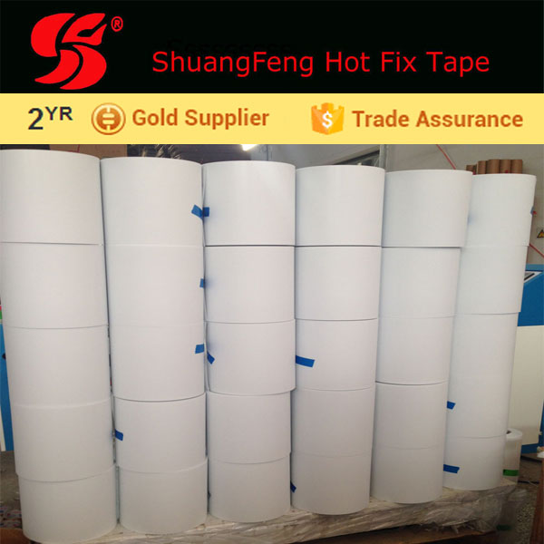 Hot melt Transfer Film and hot fix sequin tape roll iron on stud