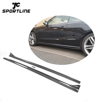 Carbon Fiber Side Skirts Extension for Audi A5 S5 2-Door 08-16