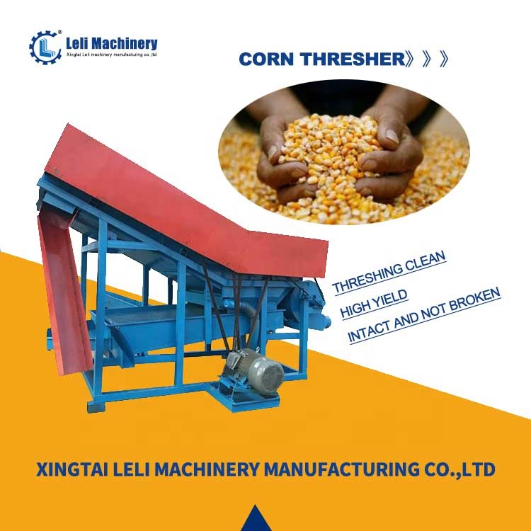 New fully automatic corn sheller