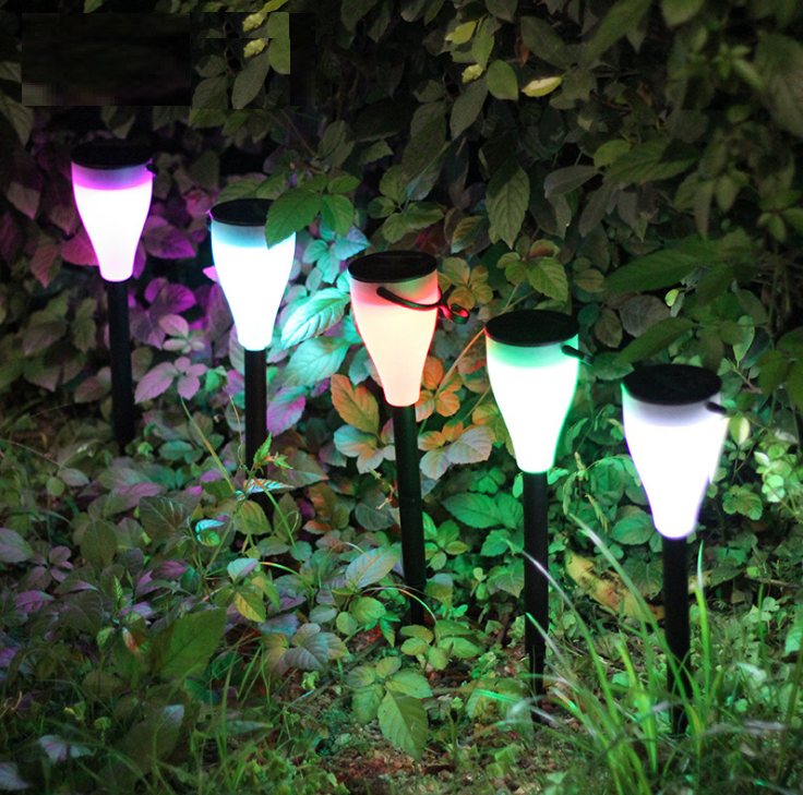 Christmas Decor Light Mosaic Decoration Stake LED Solar Garden Light Path  Light