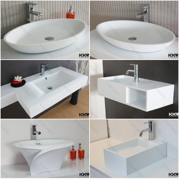 Single Washplane Basin / Solid Surface Wash Basin / Acrylic Sink ...