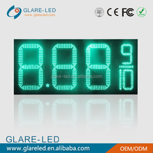 16''outdoor led gas station price display /diesel price sign
